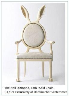bad rock chair